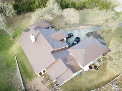 This is just one of many jobs our roofing contractors have completed in San Antonio, TX.