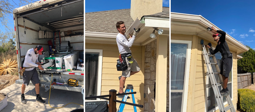 There are many benefits for new gutter installations in San Antonio, TX