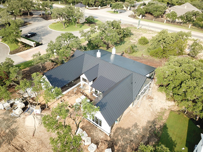 Metal roofs are highly beneficial to residents in San Antonio, TX.